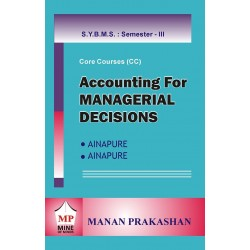 Accounting for Managerial Decision SYBMS Sem III Manan