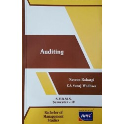 Auditing SYBMS Sem 4 Rishabh Publication