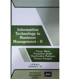 Information Technology in Business management-II SYBMS Sem 4 Rishabh Publication