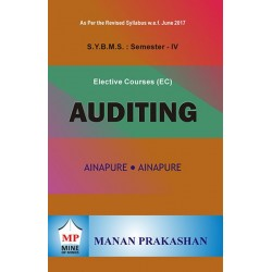 Auditing SYBMS Sem 4 Manan Prakashan