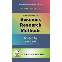 Business Research Method SYBMS Sem 4 Manan Prakashan