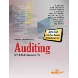 Auditing SYBMS Sem 4 Sheth Publication