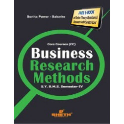 Business Research Method SYBMS Sem 4 Sheth Publication