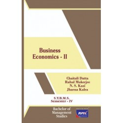 Business Economics-II SYBMS Sem 4 Rishabh Publication