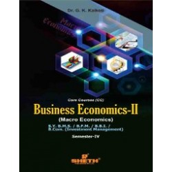 Business Economics -II SYBMS  SYBFM SYBBI Sem 4 Sheth