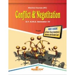 Conflict and Negotiation SYBMS Sem 4 Sheth Publication