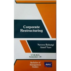 Corporate Restructuring SYBMS Sem 4 Rishabh Publication