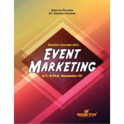 Event Marketing SYBMS Sem 4 Sheth Publication