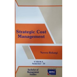 Strategic Cost Management SYBMS Sem 4 Rishabh Publication