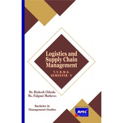 Logistics and Supply Chain Management TYBMS Sem V Rishabh Publication