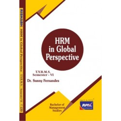 HRM in Global Perspective Tybms Sem 6 Rishabh Publication