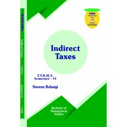Indirect Taxes (Goods and Service Tax) Tybms Sem 6 Rishabh Publication