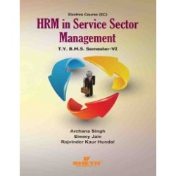 HRM in Service Sector Management Tybms Sem 6 Sheth