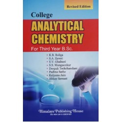 College Analytical Chemistry T.Y.B.Sc. Sem 5 and 6 Himalaya Publication