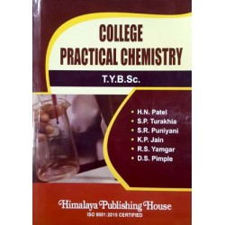 College Practical Chemistry T.Y.B.Sc. Sem 5 and 6 Himalaya Publication