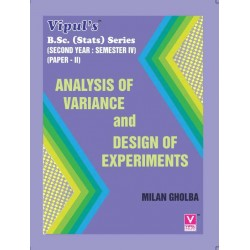 Analysis of Variance and Design of Experiments S.Y.B.Sc