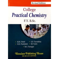 College Practical Chemistry F.Y.B.Sc First Year Himalaya Publication