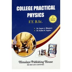 College Practical Physics F.Y.B.Sc First Year Himalaya Publication