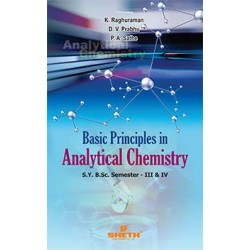Basic Principles in Analytical Chemistry S.Y.B.Sc Semester