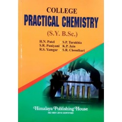 College Practical Chemistry S.Y.B.Sc 2nd Year Himalaya Publication