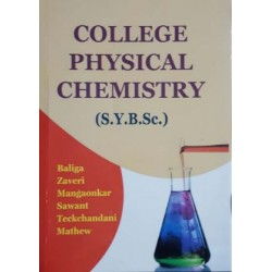 College Physical Chemistry S.Y.B.Sc 2nd Year Himalaya Publication