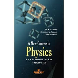 New Course in Physics Vol-2 S.Y.B.Sc Semester III & IV