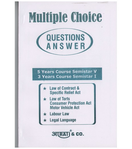 Aarti Multi Choice Questions for BLS & LLB Semester 1 Semester 5