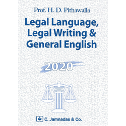 Legal Language, Legal Writting and General English FYBSL and FYLLB  Sem 1 C.Jamnadas and Co.