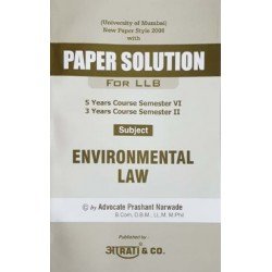 Environmental Laws Paper Solution FYBSL and FYLLB  Sem 2