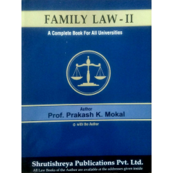 Family Law-II SYBSL and SYLLB  Sem 3 Prakash Mokal Law Books