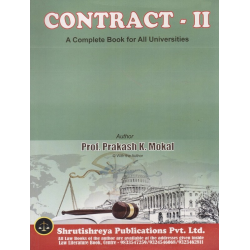 Contract-II SYBSL and SYLLB  Sem 4 Prakash Mokal Law Books