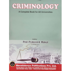 Criminology SYBSL and SYLLB  Sem 4 Prakash Mokal Law Books