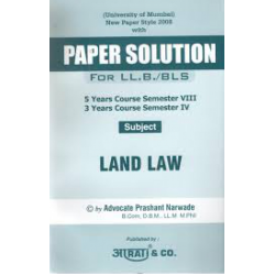 Land Law SYBSL and SYLLB  Sem 4 Aarti and Co.