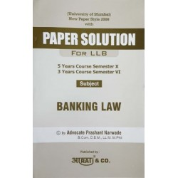 Banking Laws LLB Aarti Publication