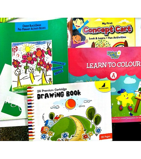 Pre-Nursery Book Bundle Set Of 6 Book 2021-22