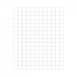 Brown Notebook 18 X 24 cms Square line 172 pages Pack of 6