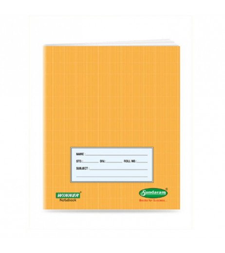 Short Note book 18 x 24 cms 76 pages Pack of 12 Single line
