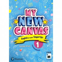 English My Canvas  Course Book Class 1