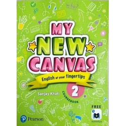 English My Canvas Course Book Class 2