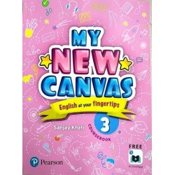 English My Canvas Course Book Class 3