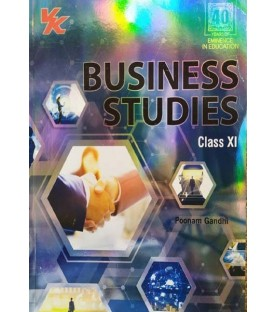 Business Studies for CBSE Class 11 by Poonam Gandhi I Latest Edition