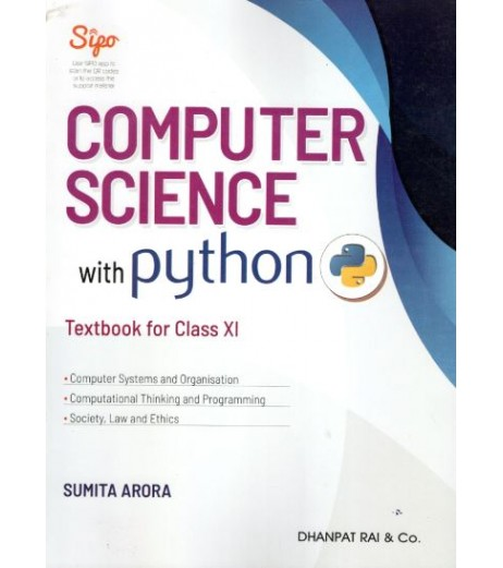 Computer Science with Python by Sumita Arora including Practical Books for Class 11 2021 edition