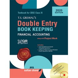 Double Entry Book Keeping by T.S. Grewal's for Class 11