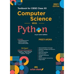 Computer Science with Python Class 12 2021-22  By Preeti