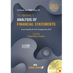 T.S. Grewal Analysis of Financial Statements Class 12 2021-22