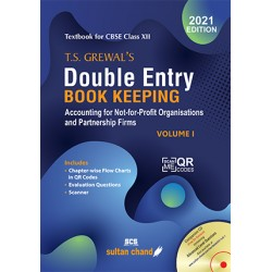 T.S. Grewal's Double Entry Book Keeping  Vol-I 2021-22