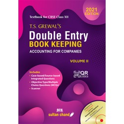 T.S. Grewal's Double Entry Book Keeping  Vol. II  class 12