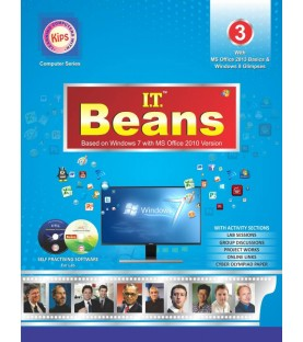 I.T Beans Class 3 Based on Windows 7 with MS Office 2010 Version