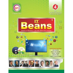 I.T Beans Class 4 Based on Windows 7 with MS Office 2010