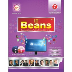 I.T Beans Class 7 Based on Windows 7 with MS Office 2010